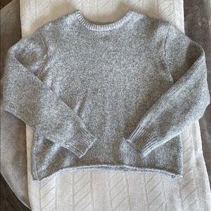 Oversized grey soft sweater